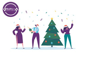 How to celebrate Christmas at work during COVID